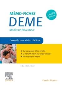 Jacqueline Gassier et Céline Rose - Mémo-fiches DEME Moniteur-éducateur - L'essentiel pour réviser : Domaines de formation 1 à 4.