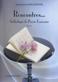 Rencontres... - Anthologie de poésie française Tome 1.pdf
