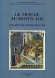 Jacqueline Hamesse et Colette Muraille-Samaran - Le travail au Moyen Age - Une approche interdisciplinaire - Actes du colloque international de Louvain-la-Neuve, 21-23 mai 1987..