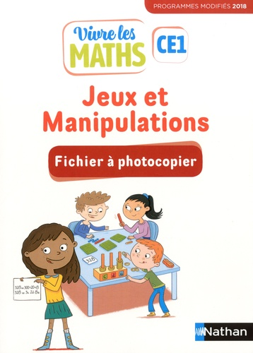 Jeux et manipulations CE1 Vivre les maths. Fichier à photocopier