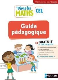 Jacqueline Jardy et Jacky Jardy - Mathématiques CE1 Vivre les maths - Guide pédagogique.