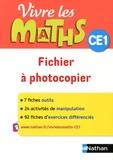 Jacqueline Jardy et Jacky Jardy - Vivre les maths CE1 - Fichier à photocopier.