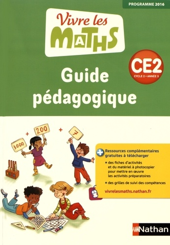 Jacqueline Jardy et Jacky Jardy - Vivre les maths CE2 - Guide pédagogique.