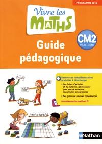 Jacqueline Jardy et Jacky Jardy - Vivre les maths CM2 cycle 3 - Guide pédagogique.