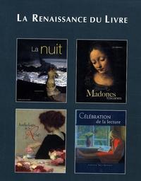 Jacqueline Kelen et Colette Nys-Mazure - La nuit ; Madones toscanes ; Anthologie de la Rose ; Célébration de la lecture - Coffret en 4 volumes.