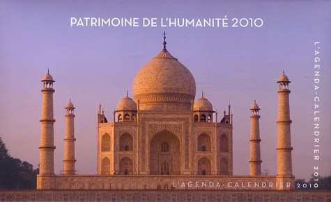 Jacqueline Lasry - Patrimoine de l'humanité 2010 - Agenda-calendrier.
