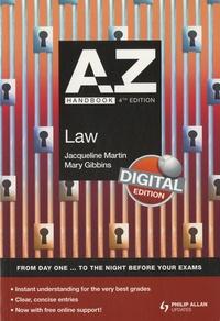 Jacqueline Martin - A-Z Handbook - Law.