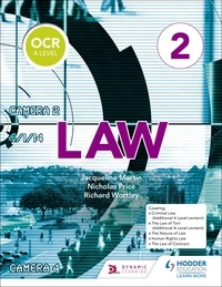 Jacqueline Martin et Richard Wortley - OCR A Level Law Book 2.
