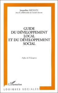 Jacqueline Mengin - Guide du développement local et du développement social.