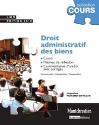 Jacqueline Morand-Deviller - Droit administratif des biens - Cours, thèmes de réflexion, commentaires d'arrêts avec corrigés.