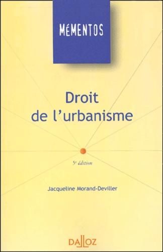 Droit de l'urbanisme 5e édition