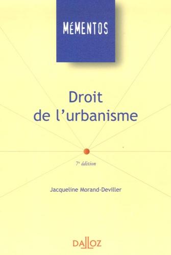 Droit de l'urbanisme 7e édition