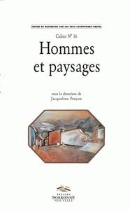 Jacqueline Penjon - Homme et paysages.