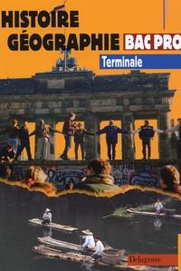 Jacqueline Renet - Histoire Géographie Bac Pro Tle.