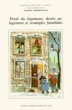 Jacqueline Rubellin-Devichi et  Centre de droit de la famille - Droit du logement, droits au logement et stratégies familiales.