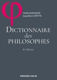 Jacqueline Russ et Noëlla Baraquin - Dictionnaire des philosophes.