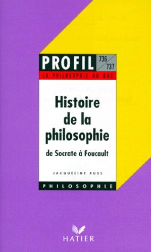 Jacqueline Russ - Histoire de la philosophie.