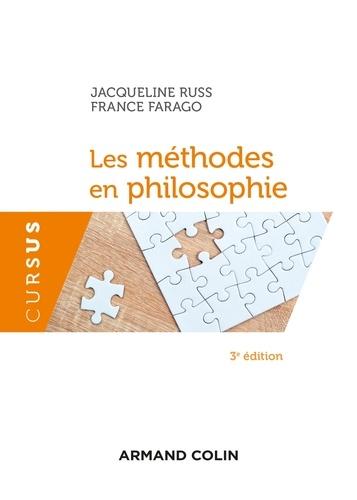 Les méthodes en philosophie 3e édition