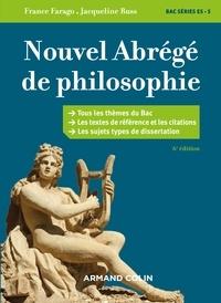 Jacqueline Russ et France Farago - Nouvel abrégé de philosophie - 6e éd. - Bac séries ES et S.
