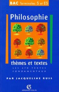 PHILOSOPHIE TERMINALES S/ES THEMES ET TEXTES. Les 270 textes fondamentaux.pdf