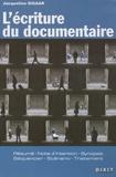 Jacqueline Sigaar - L'écriture du documentaire.
