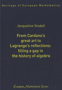Jacqueline Stedall - From Cardano's Great Art to Lagrange's Reflections - Filling a Gap in the History of Algebra.