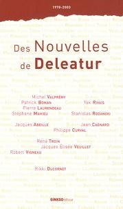 Jacques Abeille et Patrick Boman - Des Nouvelles de Deleatur.