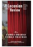 Jacques-Alain Miller et Marie-Hélène Brousse - LACANIAN REVIEW  : The Lacanian Review - tome 4.