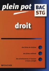 Jacques-André Hassenforder et Isabelle Le Texier - Droit - bac STG.