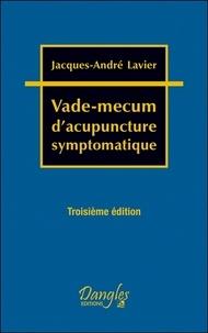 Jacques-André Lavier - Vade-mecum d'acupuncture symptomatique.
