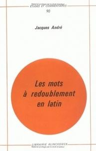 Les mots à redoublement en latin - Jacques André | Showmesound.org