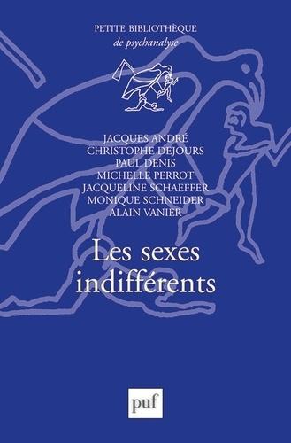 Les sexes indifférents