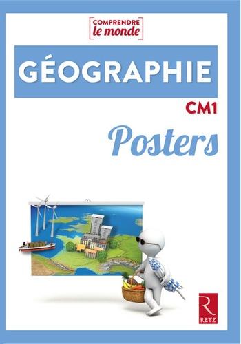 Jacques Arnaud et Alexandra Baudinault - Géographie CM1 - Posters.
