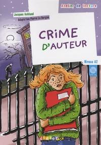Jacques Asklund - Crime d'auteur - Niveau A2. 1 CD audio