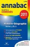 Jacques Asklund et Christophe Clavel - Histoire-Géographie L, ES, S - Sujets et corrigés 2011.