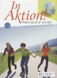 Jacques Athias et Fabienne Fédou - In aktion ! Allemand 2e année. 1 CD audio