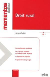 Jacques Audier - Droit rural.