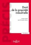 Jacques Azéma et Jean-Christophe Galloux - Droit de la propriété industrielle.