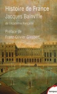 Lire des livres animorphes en ligne gratuit sans téléchargement Histoire de France (French Edition) par Jacques Bainville