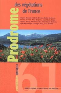 Jacques Bardat et Frédéric Bioret - Prodrome des végétations de France.