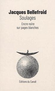 Jacques Bellefroid - Soulages - Encre noire sur pages blanches.