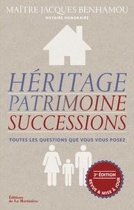 Jacques Benhamou - Héritage, patrimoine, successions.