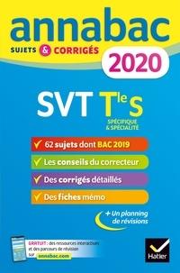 Ebook à téléchargement gratuit pour kindle Annales Annabac 2020 SVT Tle S  - sujets et corrigés du bac   Terminale S 9782401057449