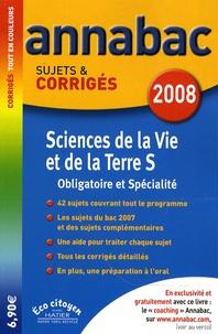 Jacques Bergeron et Jean-Claude Hervé - Sciences de la vie et de la Terre S - Sujets et corrigés.