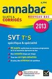 Jacques Bergeron et Jean-Claude Hervé - SVT Tle S spécifique & spécialité - Sujets et corrigés.