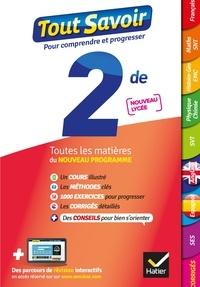 Jacques Bergeron et Jeanne-France Bignaux - Tout savoir 2de Nouveau programme du Lycée - Tout en un - toutes les matières de Seconde -  nouveaux programmes du lycée.