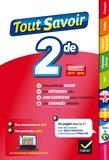 Jacques Bergeron et Jeanne-France Bignaux - Tout savoir 2de - toutes les matières de Seconde   programmes 2017-2018.