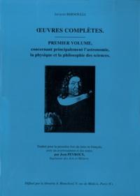 Ucareoutplacement.be Oeuvres complètes - Premier volume concernant principalement l'astronomie, la physique et la philosophie des sciences Image