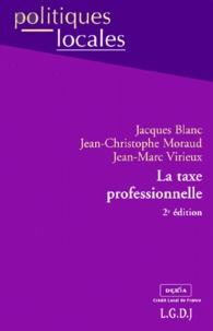 LA TAXE PROFESIONNELLE. 2ème édition - Jacques Blanc |