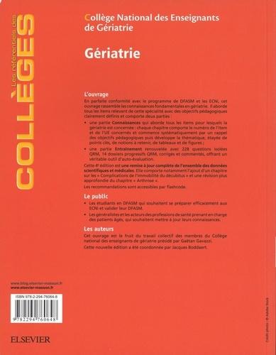 Gériatrie 4e édition